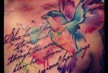 Tattoos / by Alejandra D'Sánchez