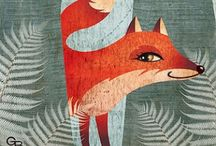 Foxy / Foxes are the new owls... a collection of all things fox inspired  / by Imogen Locke