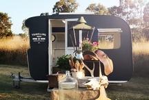 Caravans and campers / by Suzette Waldock