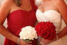 Bridesmaids! / Dresses, Shoes, Hair, Makeup & Bachelorette Party! / by Stephanie Gould
