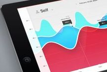 Tablet UI | Graphs / Tablet Design Inspiration / by Timoa