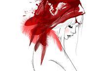 Red Hatters / Ladies having fun / by Elaine Andrews