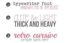 Webdesign UI | Fonts / Webdesign Fonts Inspiration / by Timoa