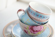 In love with tableware / by Chrissie Lovely