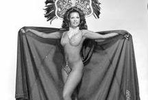 Burlesque / 1930,s 40,s 50,s burlesque dancers  / by Steve Smith