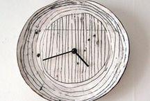 Ceramic clocks / by Jette Löwén Dall