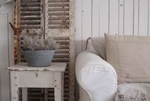Love this decorating idea`s for Anna`s cottage / Always looking for new idea`s for my cottage! Inspiration I get enough from this photo`s! / by Henny Tuinhof de Moed