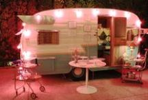 Vintage camping trailers / by vicki Stratton