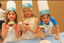 Baking Lessons / All kids has the opportunity to create their own cupcakes and enjoy the moment as a true chefs. Do not miss the kids club activities they have for your children. / by Grand Velas Riviera Nayarit
