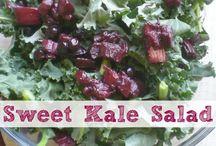Salads, sides, soups, fruits and veggies / by Gina Michak