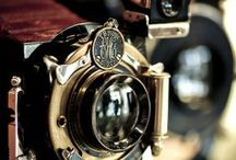 Beautiful Vintage Cameras / by Diana C. Brown