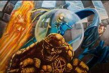 Fantastic Four  4 / by Javier Perez