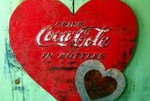 Coca Cola = █▄◯╲╱ Ξ / by Christopher Harmel
