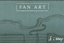 If I Stay   Fan Art Community Board / Join our Community Board to pin your favorite If I Stay fan artwork!  Step 1: Follow @IfIStayOfficial on Pinterest.  Step 2: Comment #LiveforLove on a pin in this board to join. Step 3: Pin your favorite pieces of If I Stay Fan Art.   (Pins on this board are not reflective of the opinions of Warner Bros. Pictures, and WB reserves the right to remove content.) / by If I Stay