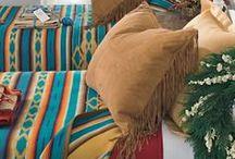 Western Southwestern - Bed & Bedding / by Debbie Clausen