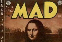 Mad magazine  / by Sarabeth Johnson