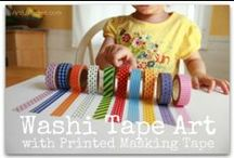 Washi tape ideas / by Drawp