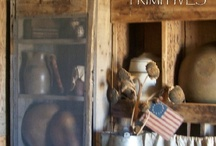 primitive_mary / I love primitives - I grew up with them and didn't know any different decorating. I have gone more prim in recent years  - they make my heart flutter! / by Mary King