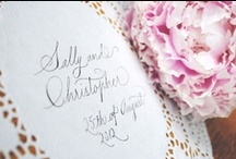 Wedding reception ideas / by English Wedding Blog