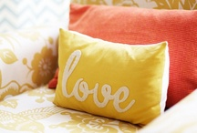 DIY: Throw Pillows / Pillow fight! / by Melissa Camara Wilkins