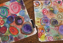 Kids: Painting / Painting projects for messy days. / by Melissa Camara Wilkins