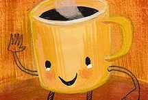 Coffee please! / by Elena Murillo Caballero