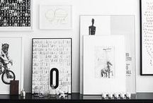 my BLACK AND WHITE / Always popular: black and white. / by Myhomeshopping.nl