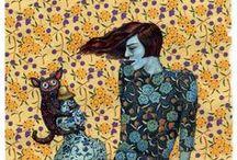 Illustration  / by Sasha Ushakova