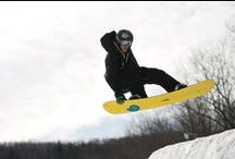 Snowboarding at Camelback  / Take to the Pocono Mountains and snowboard at Camelback Mountain Resort's 34 trails. At a variety of experience levels, Camelback Mountain Resort has terrain for everyone.  / by Camelback Mountain Resort