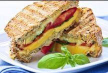 Panini Sandwiches / by Kelly Moss