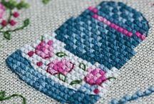 cross stitch / by Grace Lei
