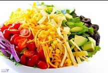 Mix + Toss = Salads / by AiPing Chang
