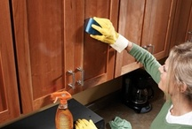 Cleaning Tips / How to make your own cleaning products, for less than store bought. Information on how to get stains out, white whiter and things fresh smelling. This board has almost everything you need to know about cleaning. / by Barbara MacKellar