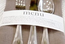 Dinner themes, parties and decorating for them / by That Allisun