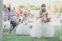 Flower Girl & Ring Bearer  / by Rustic Wedding Chic
