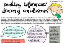 Learning Strategy - Infer / One of the important strategies good readers use . . . / by Theresa L Christensen