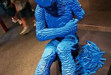 Lego Sculptures and Art / by Jim Bo