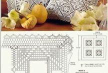 almohadones tejidos al crochet / by clara martinez
