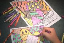 Coloring Sheets / by Lamar Public Library