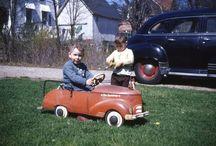 Kiddie / Pedal / Cars / by Mark Hanner