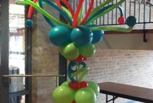 Balloon Decorating Dallas TX / Balloons and More Gifts provides onsite and delivery of Balloon Decorations in Dallas TX.  Call 214-881-6915 or use our contact us page on website for a quote. / by Balloons and More Gifts