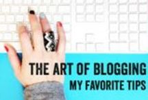 Blogging Tips and Tricks / by Jean Van't Hul :: The Artful Parent