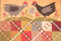 Patchwork & Applique...2 / This board is a continuation of Patchwork and Applique...as that board was getting too big. / by Sharon Browne