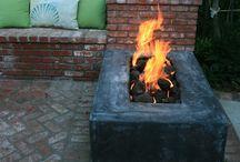 Fire Pits & Fireplaces / Fire pits, fireplaces / by Anthony Carter