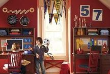 Vintage sports nursery / Vintage sports Inspiration for a baby boy's room that can grow with him over time. Classic, old-timey sports theme, nothing too cartoonish. / by Alyssa Grade