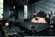 My Gothic Dream Home. <3  / A board of beautiful classic goth home decor. <3 #Gothhome #Gothhouse #Gothhomedecor #Halloween #Spooky #Gothic #Decorating / by Martyna Malice