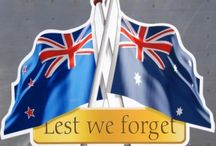 ANZACS. The bravest of men / AT THE GOING DOWN OF THE SUN AND IN THE MORNING, WE WILL REMEMBER THEM   LEST WE FORGET / by Linda Jenkins