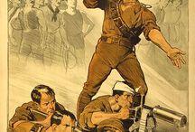 Military And Propaganda Posters / by Linda Jenkins