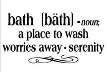 BATHTIME / SOAP IS TO THE BODY JUST AS LAUGHTER IS TO THE SOUL.    I LOVE MY BATH TIME. . . ME TIME. . . / by Agnes Krause
