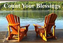 BLESSINGS & WISHES / SET ASIDE THE PAINS OF THE PAST, ENJOY THE BLESSINGS OF THE PRESENT, AND LOOK FORWARD TO THE PROMISES OF THE FUTURE / by Agnes Krause